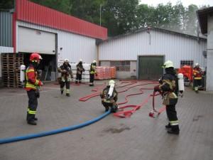 Exercice intercorps 2009