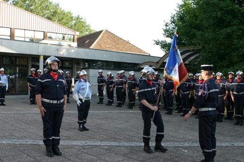 Passation de commandement - 25 mai 2012