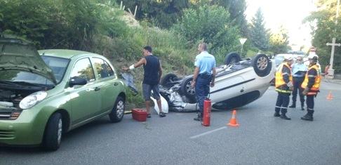 Accident de circulation - 18 août 2012