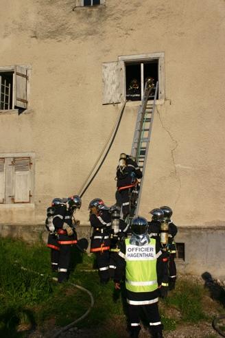 Exercice Hagenthal - 15 juin 2012